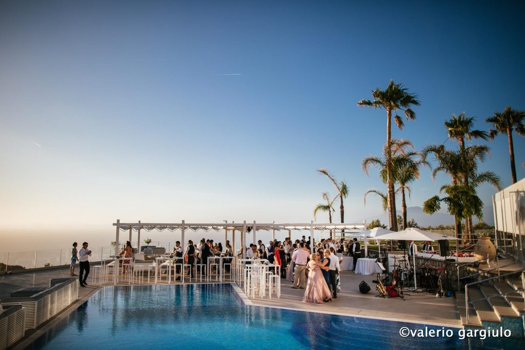 pool wedding villa eliana sorrento receptions