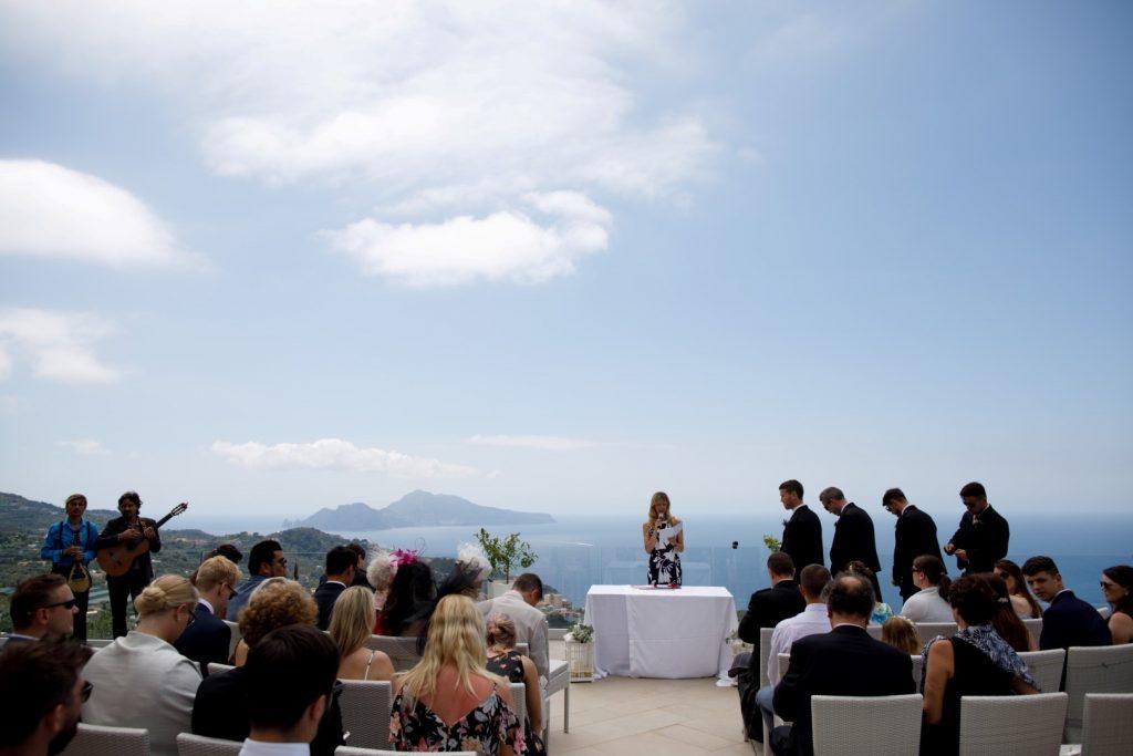 ceremony in villa fattoria catignano siena