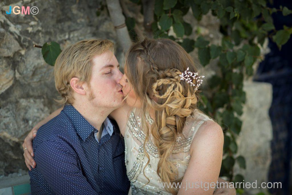 wedding braided hair bride italy