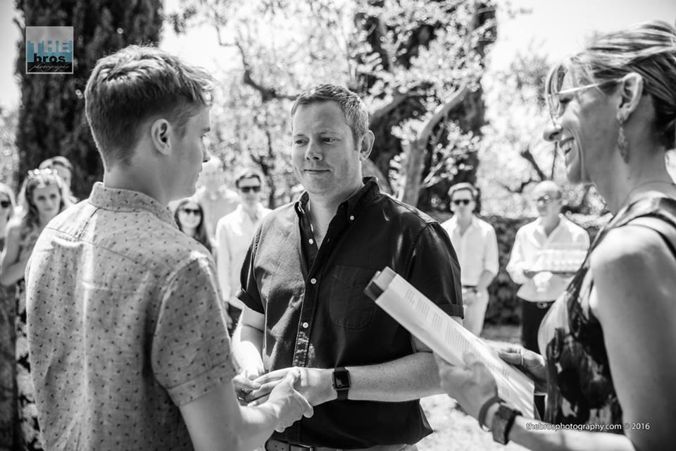 gay wedding officiant italy weddings