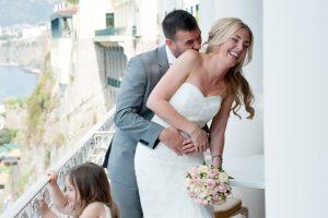 villa fondi sorrento wedding photos