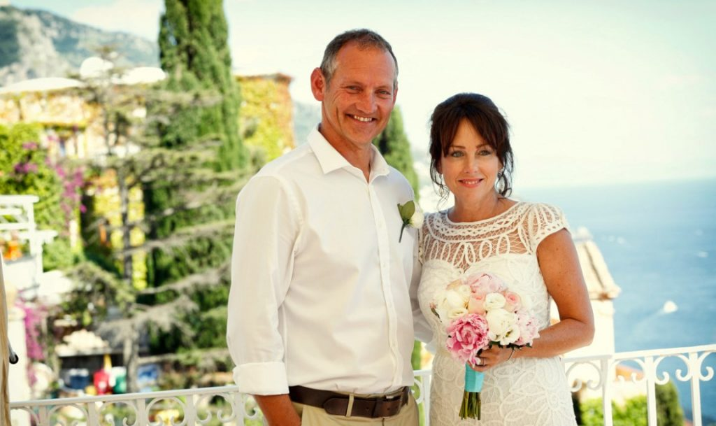 wedding in positano, wedding interpreter and celebrants