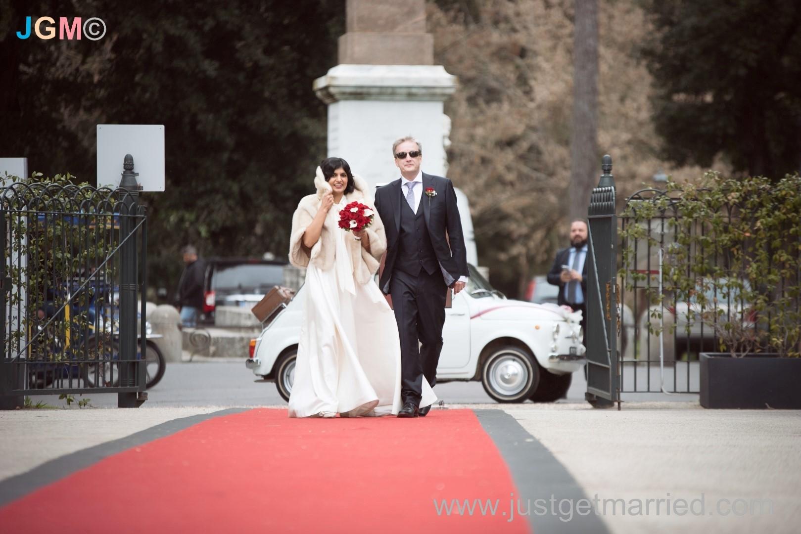 casina valadier wedding in rome reception venue