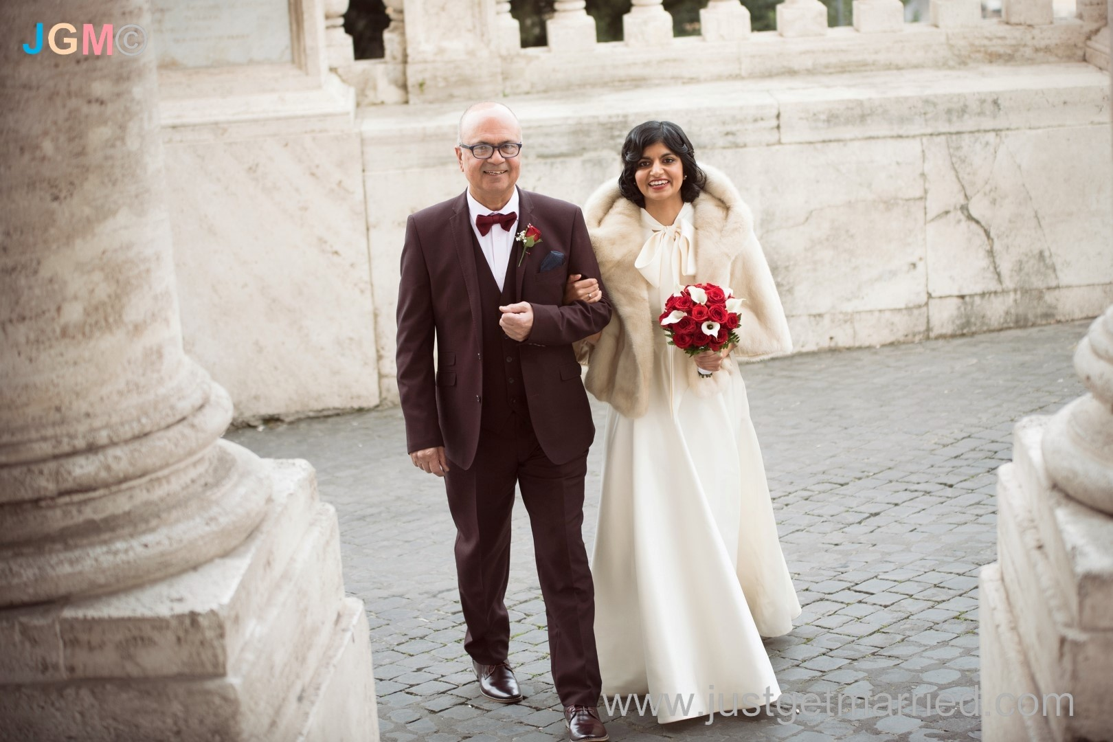 Where To Get Married In Italy: Campidoglio Wedding Photo Gallery, Declan