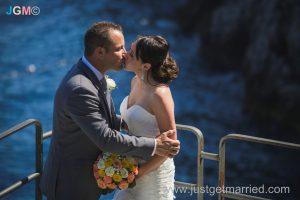 seaside wedding ceremony outdoor amalfi