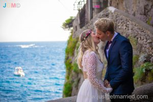 beach wedding furore amalfi coast wedding gallery