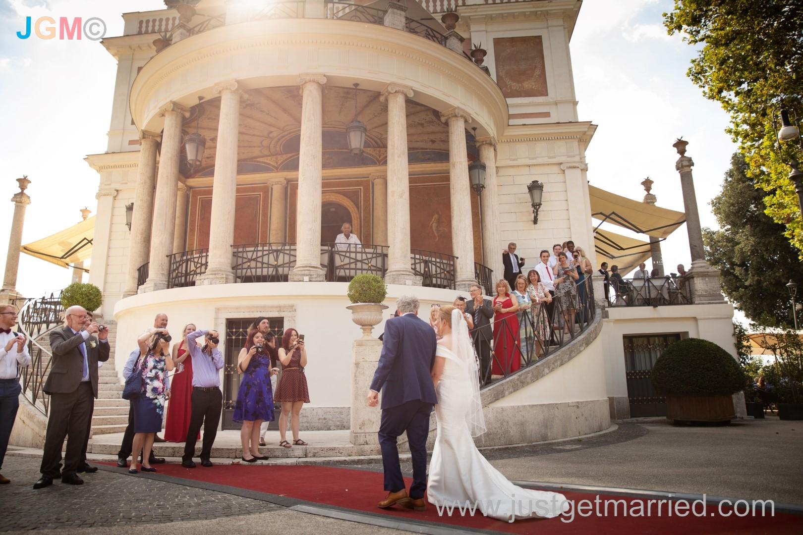 Campidoglio Wedding Photo Gallery, Chris