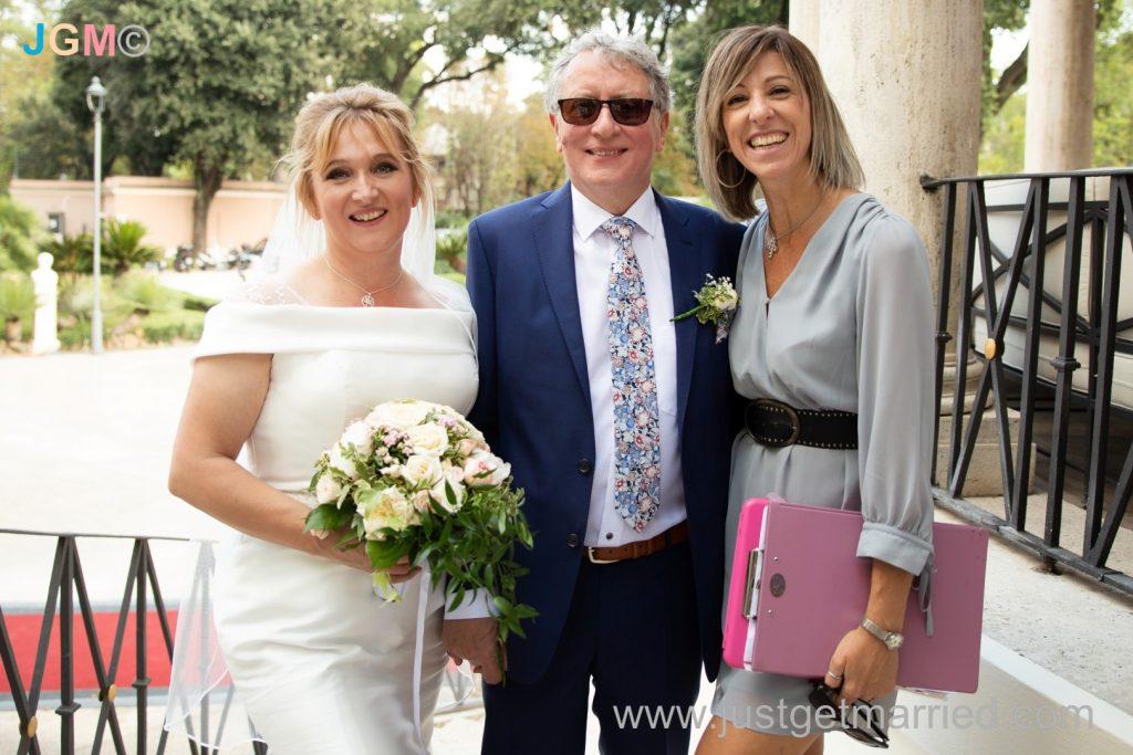wedding planner officiant celebrant rome