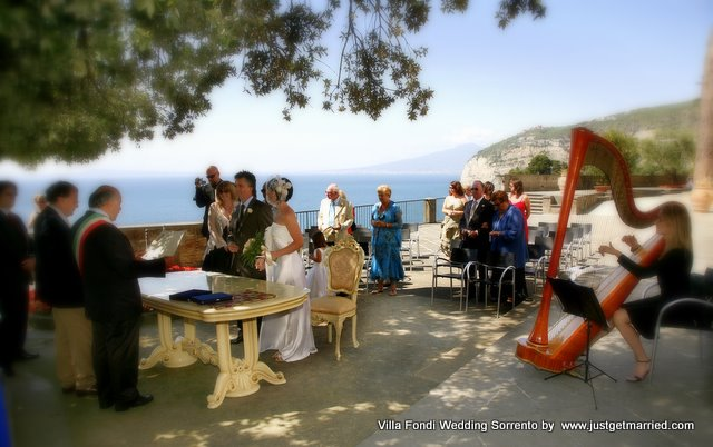 wedding, italy love, garden, panoramic. villa, sorrento, marriage