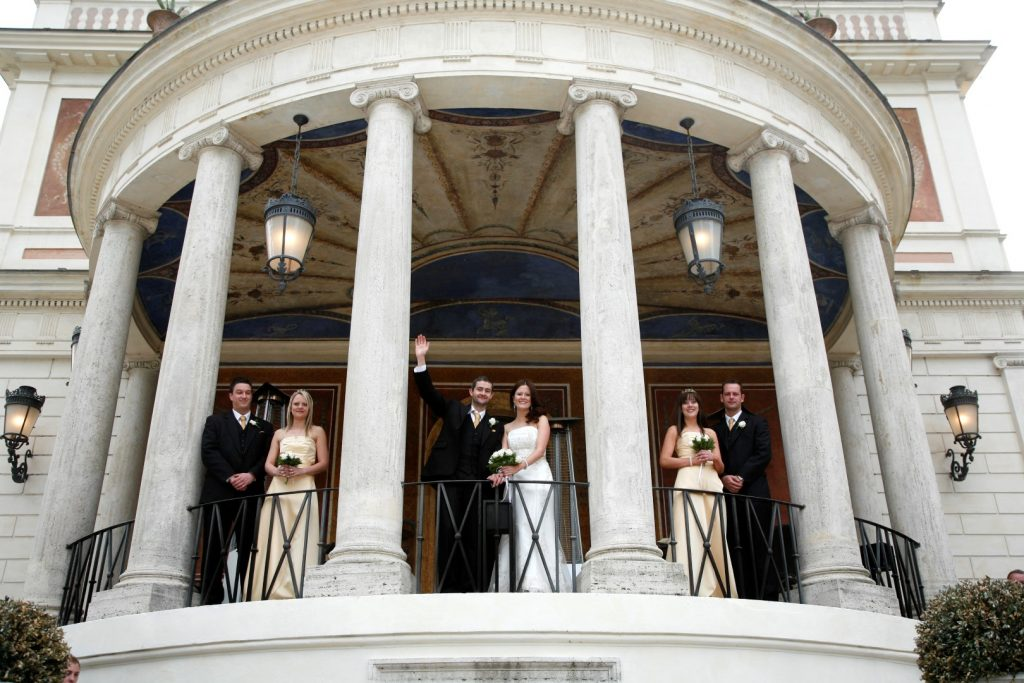 valadier, reception, rome wedding, exclusive, luxury, weddings, italy, romance