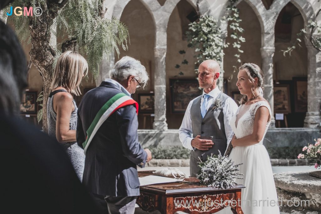 sorrento cloister marriage
