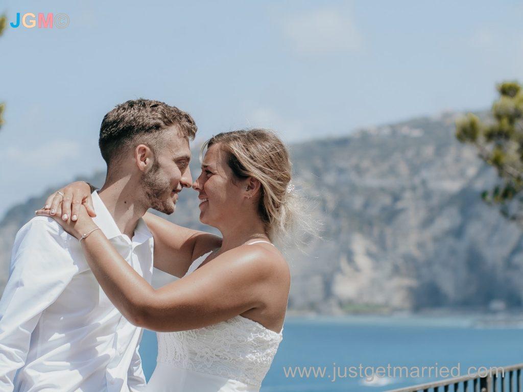 sorrento wedding photographer elope wedding