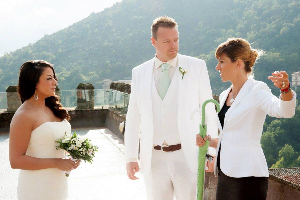 elope wedding italy bride