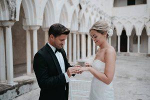 amalfi convento hotel wedding cloister