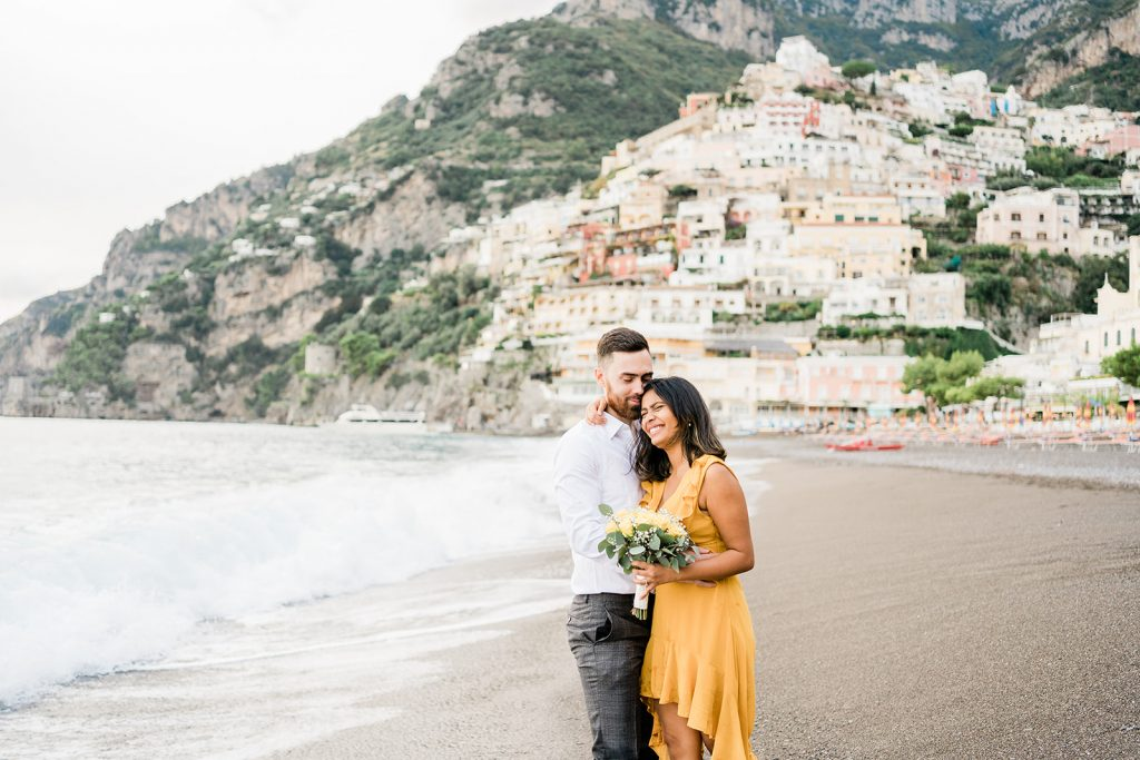 covid19 wedding positano